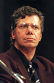 Musician Chick Corea testifies before a United States Senate panel in Washington, D.C. on the repression on members of the Church of Scientology in Germany on September 18, 1997..Credit: Ron Sachs / CNP