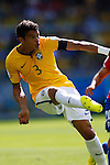 Thiago Silva (BRA),<br /> JUNE 28, 2014 - Football / Soccer :<br /> FIFA World Cup Brazil 2014 Round of 16 match between Brazil 1(3-2)1 Chile at Estadio Mineirao in Belo Horizonte, Brazil. (Photo by D.Nakashima/AFLO)