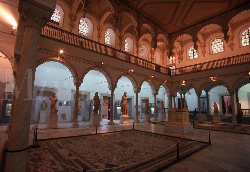 Tunisia. Inside The Bardo Museum.