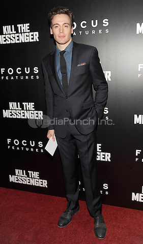 New York, NY- October 9: Erich Bergen attends the  'Kill the Messenger' New York Premiere at the Museum of Modern Art on October 9, 2014 in New York City. Credit: John Palmer/MediaPunch