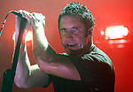 NIne Inch Nails performs at the Sommet Center in Nashville, Tennessee on Friday, October 31, 2008. (Photo by Frederick Breedon)