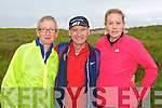 RACE: Ready for the off at the 10KM Banna Road Race on Sunday l-r: Sally-Ann Power, Ballyheigue, Joe Monks, Florida USA and Helen White (Sports World).