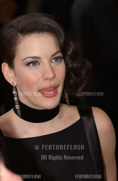 LIV TYLER at the 76th Annual Academy Awards in Hollywood..February 29, 2004