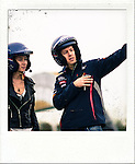 Formula One World Champion Sebastian Vettel appears alongside Hollywood actress and martial artist Celina Jade at a Shanghai film studios, China, for the making of car brand Infiniti's martial arts short film, Kung Fu Vettel: Drive of the Dragon . The film is the first in a series of virals from Infiniti to launch their Inspired Performers campaign on 11th April 2012. Photo by Victor Fraile / The Power of Sport Images for Infiniti