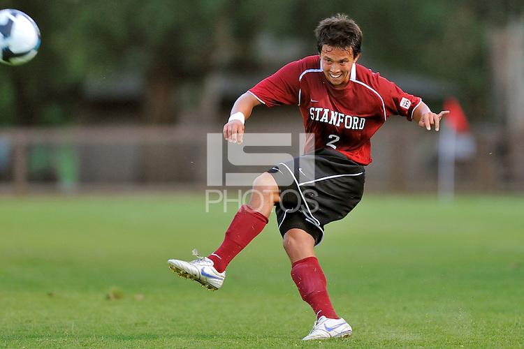 STANFORD, CA - AUGUST 25:  Clayton Holz of the Stanford Cardinal during Stanford's 0-0 tie with the St. Mary's Gaels on August 25, 2009 at Laird Q. Cagan Stadium in Stanford, California.