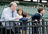 Rich Glazier & his grandkids at Delaware Park  on 10/1/11