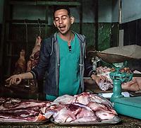The butcher, La Habana Vieja