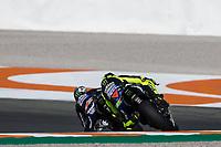 VALENTINO ROSSI - ITALIAN - MONSTER ENERGY YAMAHA MotoGP - YAMAHA<br /> MAVERICK VINALES - SPANISH - MONSTER ENERGY YAMAHA MotoGP - YAMAHA<br /> Valencia 16/11/2019 <br /> Moto Gp Spain <br /> Foto Vincent Guignet / Panoramic / Insidefoto