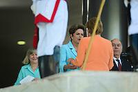 BRASÍLIA, DF, 20.08.2015 –  MERKEL-BRASIL – A Chanceler da Alemanha Ângela Merkel durante visita à Presidente Dilma Rousseff, na manhã desta quinta-feira, 20, no Palácio do Planalto em Brasília. (Foto: Ricardo Botelho / Brazil Photo Press)
