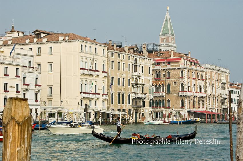 Le Grand Canal.(Venise, Octobre 2006)
