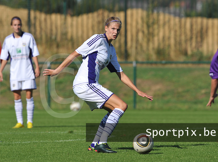 RSC Anderlecht Dames : Justine Vanhaevermaet.foto DAVID CATRY /  Vrouwenteam.be.
