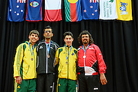 Singles presentations / Class 7-8<br /> 2013 ITTF PTT Oceania Regional<br /> Para Table Tennis Championships<br /> AIS Arena Canberra ACT AUS<br /> Wednesday November 13th 2013<br /> © Sport the library / Jeff Crow
