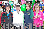 FUN-DAY: Jack Turbett, Danny Sheehy, Emer White and Laura Turbett (Dingle) having fun at the Dingle Races on Sunday..