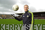 Niall O'Mahony at the Kerry Senior Football Team Media day at Fitzgerald Stadium on Saturday.