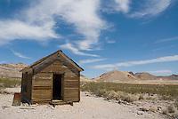 Unidentified building, Rhyolite ghost town, Nevada