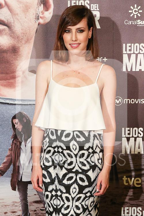 Natalia de Molina during the premiere of Lejos del Mar flim at Palafox cinema. August 30, 2016. (ALTERPHOTOS/Rodrigo Jimenez)