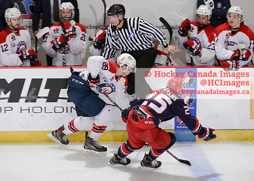 Brooks, AB - May 14 2019 - Ottawa Jr. Senators vs. Brooks Bandits during the 2019 National Junior A Championship at the Centennial Regional Arena in Brooks, Alberta, Canada (Photo: Matthew Murnaghan/Hockey Canada)