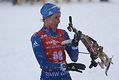 8th December 2017, Biathlon Centre, Hochfilzen, Austria; IBU Womens Biathlon World Cup; Clare Egan (USA)