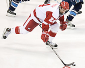 Andrew Joudrey - The University of Wisconsin Badgers defeated the University of Maine Black Bears 5-2 in their 2006 Frozen Four Semi-Final meeting on Thursday, April 6, 2006, at the Bradley Center in Milwaukee, Wisconsin.  Wisconsin would go on to win the Title on April 8, 2006.