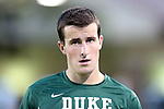 12 October 2012: Duke's James Belshaw (ENG). The University of Maryland Terrapins defeated the Duke University Blue Devils 2-1 at Koskinen Stadium in Durham, North Carolina in a 2012 NCAA Division I Men's Soccer game.