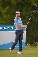 Harris English (USA) watches his tee shot on 15 during the round 1 of the AT&T Byron Nelson, Trinity Forest Golf Club, Dallas, Texas, USA. 5/9/2019.<br /> Picture: Golffile | Ken Murray<br /> <br /> <br /> All photo usage must carry mandatory copyright credit (© Golffile | Ken Murray)