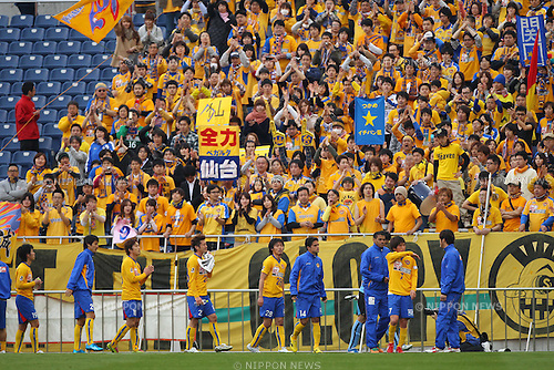 Vegalta Sendai team group, .MARCH 20, 2012 - Football /Soccer : .2012 J.LEAGUE Yamazaki Nabisco Cup .between Urawa Red Diamonds 1-0 Vegalta Sendai .at Saitama Stadium 2002, Saitama, Japan. .(Photo by YUTAKA/AFLO SPORT) [1040]