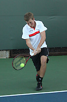 STANFORD, CA - NOVEMBER 16:  Jamie Hutter of the Stanford Cardinal during photo day on November 16, 2009 at the Taube Family Tennis Stadium in Stanford, California.