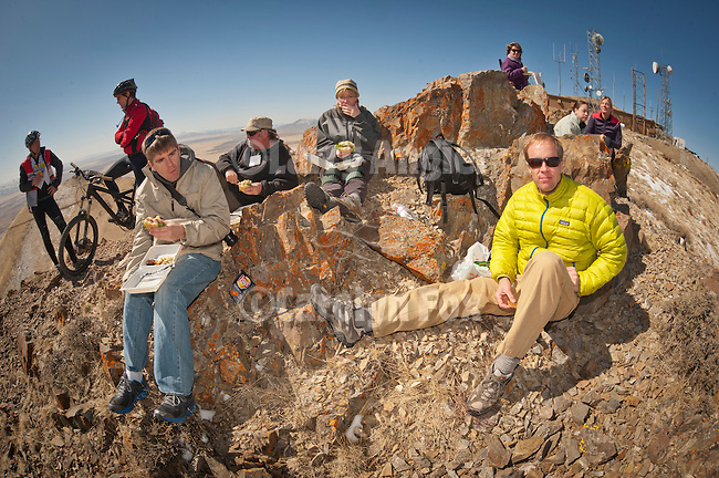 Location Lighting workshop on the summit of Winnemucca Mountain with adventure photographer Tom Bol, Shooting the West XXIV, WInnemucca, Nevada