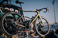 Peter Sagan's (SVK/Bora-Hansgrohe) spare bike <br /> <br /> MEN ELITE ROAD RACE<br /> Kufstein to Innsbruck: 258.5 km<br /> <br /> UCI 2018 Road World Championships<br /> Innsbruck - Tirol / Austria