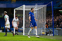Chelsea's Davide Zappacosta celebrates his side's second goal <br /> <br /> Photographer Craig Mercer/CameraSport<br /> <br /> The Premier League - Chelsea v Crystal Palace - Saturday 10th March 2018 - Stamford Bridge - London<br /> <br /> World Copyright &copy; 2018 CameraSport. All rights reserved. 43 Linden Ave. Countesthorpe. Leicester. England. LE8 5PG - Tel: +44 (0) 116 277 4147 - admin@camerasport.com - www.camerasport.com