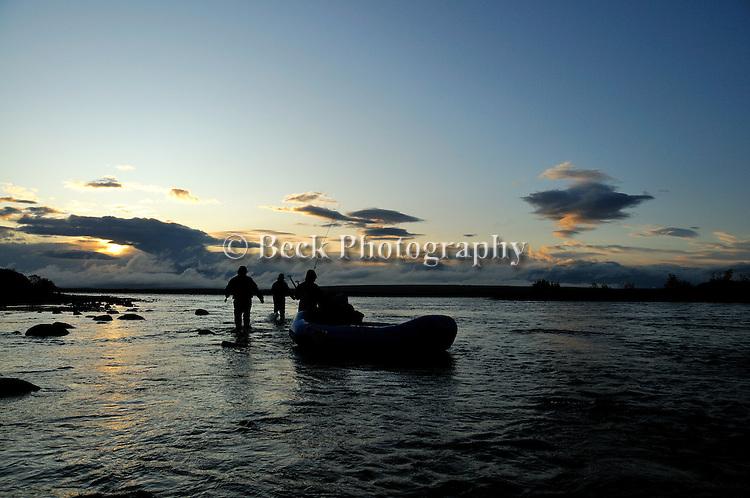 First light on the big Ku Alaska