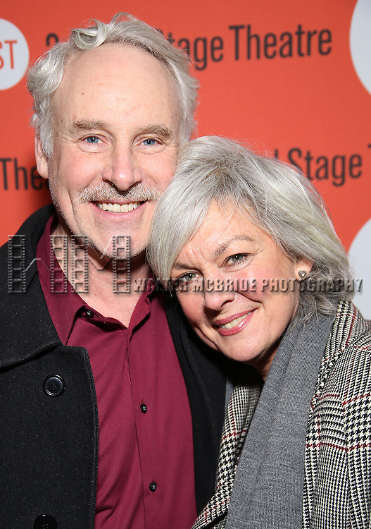 John Dossett and Michele Pawk attends the Off-Broadway Opening Night performance of 'Man From Nebraska' at the Second StageTheatre on February 15, 2017 in New York City.