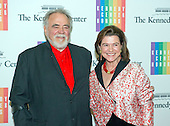Herbert V. Kohler, Jr. and his wife, Natalie, arrive for the formal Artist's Dinner honoring the recipients of the 2013 Kennedy Center Honors hosted by United States Secretary of State John F. Kerry at the U.S. Department of State in Washington, D.C. on Saturday, December 7, 2013. The 2013 honorees are: opera singer Martina Arroyo; pianist,  keyboardist, bandleader and composer Herbie Hancock; pianist, singer and songwriter Billy Joel; actress Shirley MacLaine; and musician and songwriter Carlos Santana.<br /> Credit: Ron Sachs / CNP