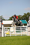 06/09/2015.  Stamford ,  England.  The Land Rover Burghley Horse Trials. Paul Tapner (AUS) riding KILRONAN in action during the Show Jumping Phase on Day 4 of the 2015 Land Rover Burghley Horse Trials.  The Land Rover Burghley Horse Trials take place 3rd - 6th September.   Jonathan Clarke/JPC Images