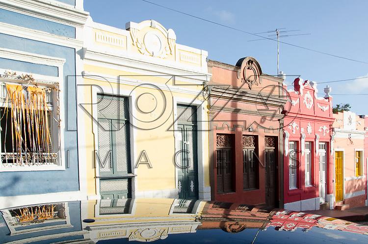 Casarios coloniais no centro histórico de Olinda - PE, 12/2012.