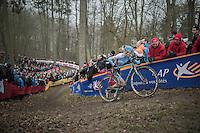 Klaas Vantornout (BEL/Marlux-NapoleonGames)<br /> <br /> UCI Cyclocross World Cup Namur/Belgium 2016