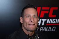 SÃO PAULO, SP, 05.11.2015 - UFC-SP - Anthony Birchak durante entrevista coletiva no UFC Media Day, no hotel Hilton, na zona sul de São Paulo, na manhã desta quinta-feira, 05.  (Foto: Adriana Spaca/Brazil Photo Press)
