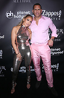 "09 March 2018 - Music icon Jennifer Lopez and retired baseball star Alex Rodriguez are engaged after two years of dating. The couple then made their red carpet debut at the Met Gala in May 2017  and have inseparable since. 29 September 2018 - Las Vegas, NV - Jennifer Lopez, Alex Rodriguez.  Jennifer Lopez celebrates the end of her headlining residency, ""JENNIFER LOPEZ: ALL I HAVE,"" at Mr. Chow at Caesars Palace. Photo Credit: MJT/AdMedia"