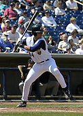 April 18, 2004:  Javier (Javi) Herrera of the Lake County Captains, Low-A South Atlantic League affiliate of the Cleveland Indians, during a game at Classic Park in Eastlake, OH.  Photo by:  Mike Janes/Four Seam Images