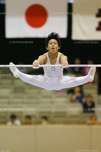 Yuki Sato (), <br /> AUGUST 21, 2017 - Artistic Gymnastics : <br /> 48th All Japan Junior High School Championships <br /> Men's Individual All-Around <br /> Horizontal Bar <br /> at Kitakyushu City General Gymnasium, Fukuoka, Japan. <br /> (Photo by YUTAKA/AFLO)