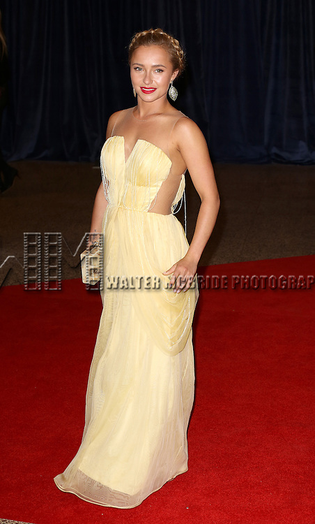 Hayden Panettiere  attending the  2013 White House Correspondents' Association Dinner at the Washington Hilton Hotel in Washington, DC on 4/27/2013