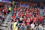 09.06.2019, ISS Dome, Duesseldorf,  GER, 1. HBL. Herren, BHC vs. SG Flensburg Handewitt, <br /> <br /> im Bild / picture shows: <br /> Fans Flensburger freuen sich <br /> <br /> <br /> Foto © nordphoto / Meuter