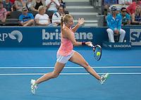 Alla Kudryavtseva (RUS)<br /> <br /> Tennis - Brisbane International 2015 - ATP 250 - WTA -  Queensland Tennis Centre - Brisbane - Queensland - Australia  - 7 January 2015. <br /> &copy; Tennis Photo Network