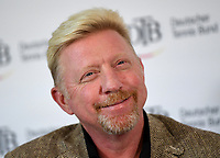 Boris Becker, Head of Men·s Tennis of the German Tennis Federation, partakes in a panel discussion in Ismaning, Germany, 17 October 2017. Becker is considering a German team with the best players for the first Davis Cup round 2018. Photo: Peter Kneffel/dpa /MediaPunch ***FOR USA ONLY***