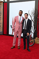 """LOS ANGELES - AUG 26:  Isaiah Mustafa, Jay Ryan at the """"It Chapter Two"""" Premiere at the Village Theater on August 26, 2019 in Westwood, CA"""