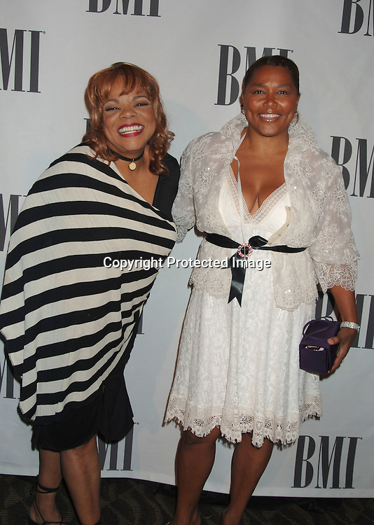 Jamie Brown and Marilyn Crawford..at The 6th Annual BMI Urban Awards honoring the songwriters and publishers of the most performed urban songs on US radio and television on August 30, 2006..at Roseland. ..Robin Platzer, Twin Images
