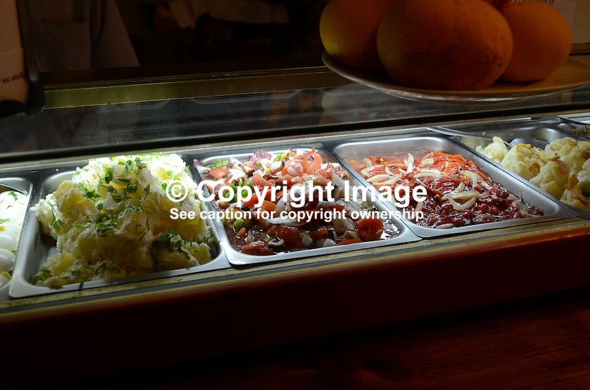 Tapas, bar, Costa del Sol, Spain, 201212131093..Copyright Image from Victor Patterson, 54 Dorchester Park, Belfast, UK, BT9 6RJ..Tel: +44 28 9066 1296.Mob: +44 7802 353836.Voicemail +44 20 8816 7153.Skype: victorpattersonbelfast.Email: victorpatterson@me.com.Email: victorpatterson@ireland.com (back-up)..IMPORTANT: If you wish to use this image or any other of my images please go to www.victorpatterson.com and click on the Terms & Conditions. Then contact me by email or phone with the reference number(s) of the image(s) concerned.