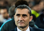 Coach Luis Ernesto Valverde Tejedor of FC Barcelona looks on prior to the UEFA Champions League 2017-18 Round of 16 (2nd leg) match between FC Barcelona and Chelsea FC at Camp Nou on 14 March 2018 in Barcelona, Spain. Photo by Vicens Gimenez / Power Sport Images