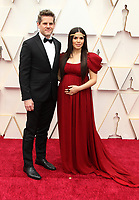 09 February 2020 - Hollywood, California - America Ferrera, Ryan Piers Williams. 92nd Annual Academy Awards presented by the Academy of Motion Picture Arts and Sciences held at Hollywood & Highland Center. Photo Credit: AdMedia