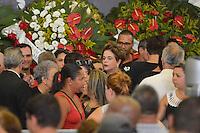 SÃO PAULO, SP, 04.02.2017 – VELÓRIO MARISA LETÍCIA - Ex presidente Dilma Rousseff acompanha o velório da ex-primeira dama Marisa Letícia, no Sindicato dos Metalúrgicos do ABC em São Bernardo do Campo, na manhã deste sabado, 04. (Foto: Levi Bianco/Brazil Photo Press)